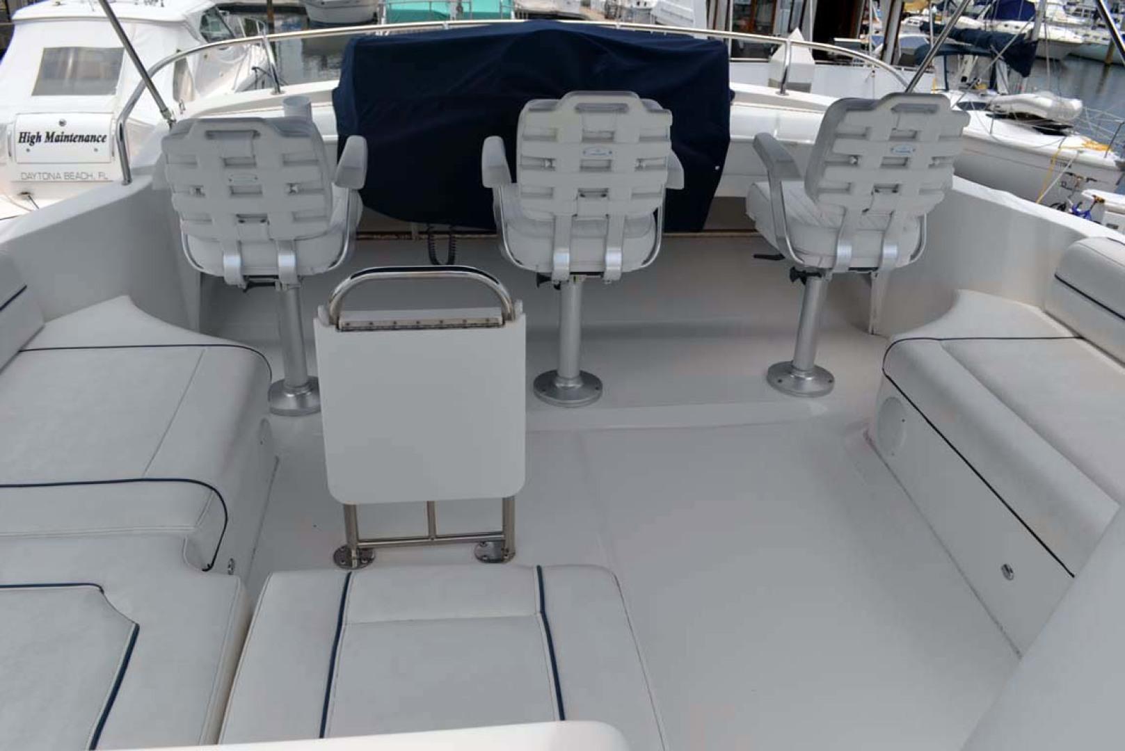 Mainship-395 Trawler 2010-Stargazer Daytona Beach-Florida-United States-Flybridge Helm Seats-1167103 | Thumbnail