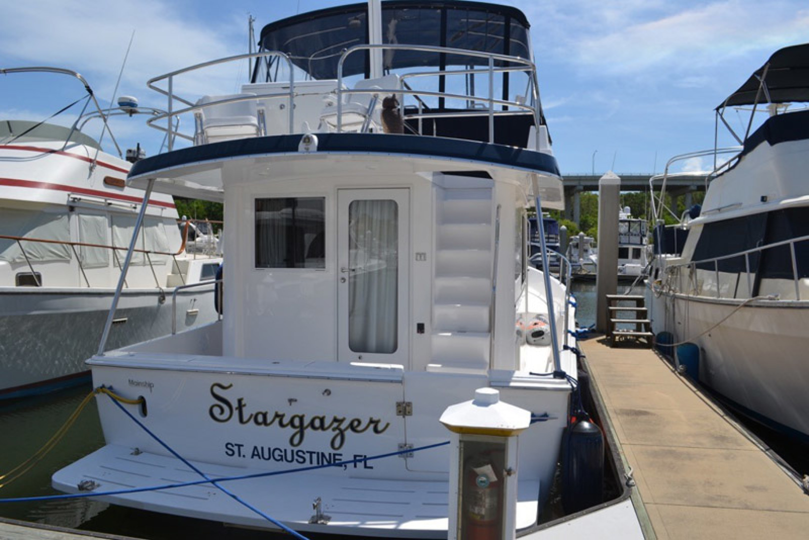 Mainship-395 Trawler 2010-Stargazer Daytona Beach-Florida-United States-Stern-1167071 | Thumbnail