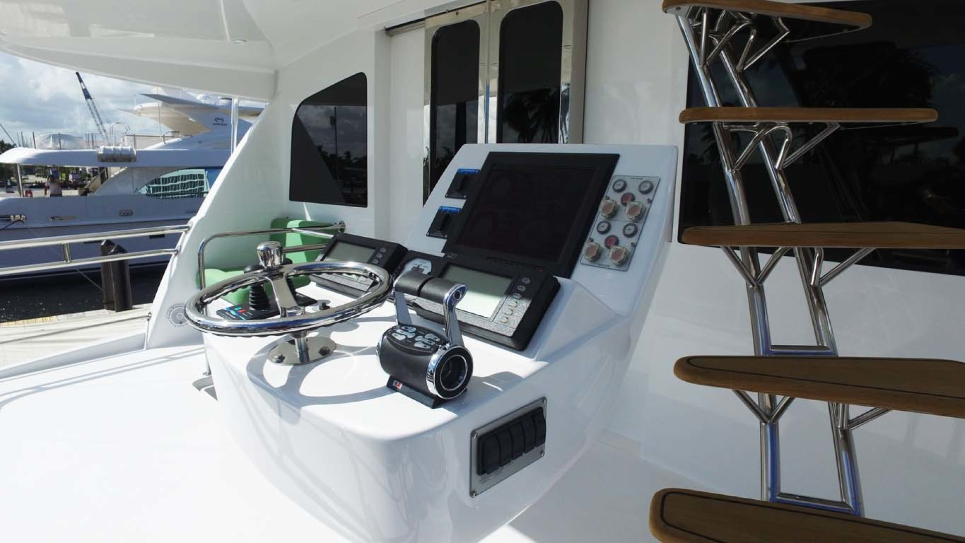 Sea-Force-IX-Sport-Fisherman-2010-Silky-Palm-Beach-Florida-United-States-Exterior-Pilothouse-Controls-1078925