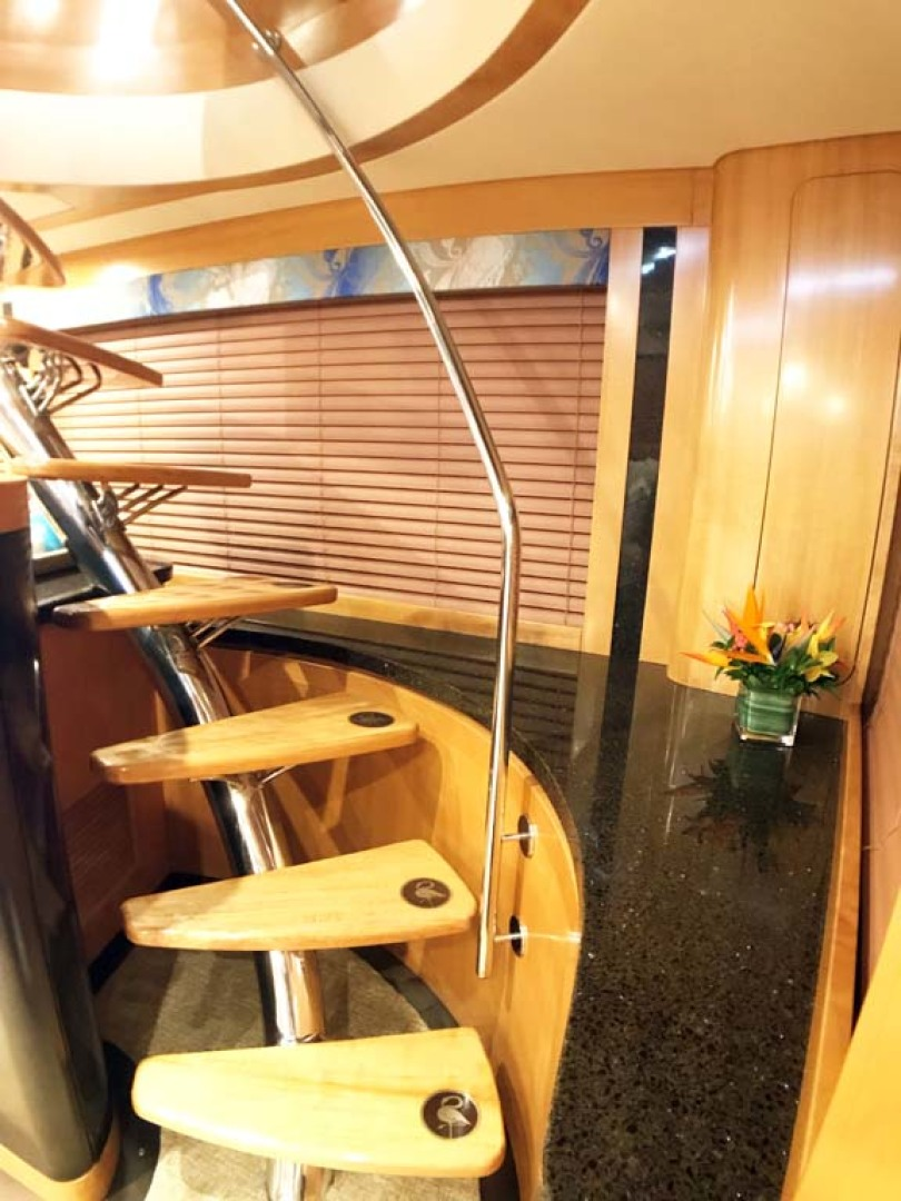 Sea-Force-IX-Sport-Fisherman-2010-Silky-Palm-Beach-Florida-United-States-Custom-Stairs-to-Pilothouse-1078909
