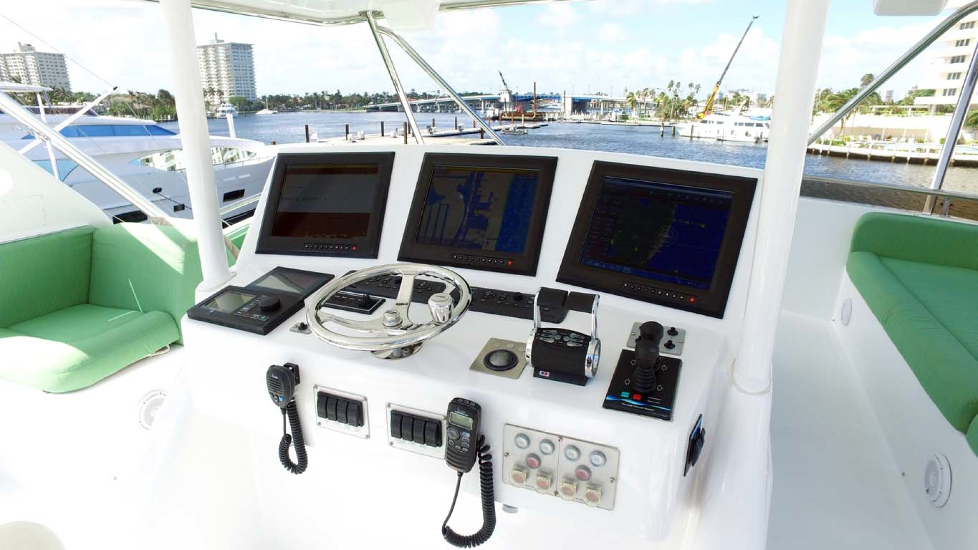 Sea-Force-IX-Sport-Fisherman-2010-Silky-Palm-Beach-Florida-United-States-Flybridge-Helm-1078926