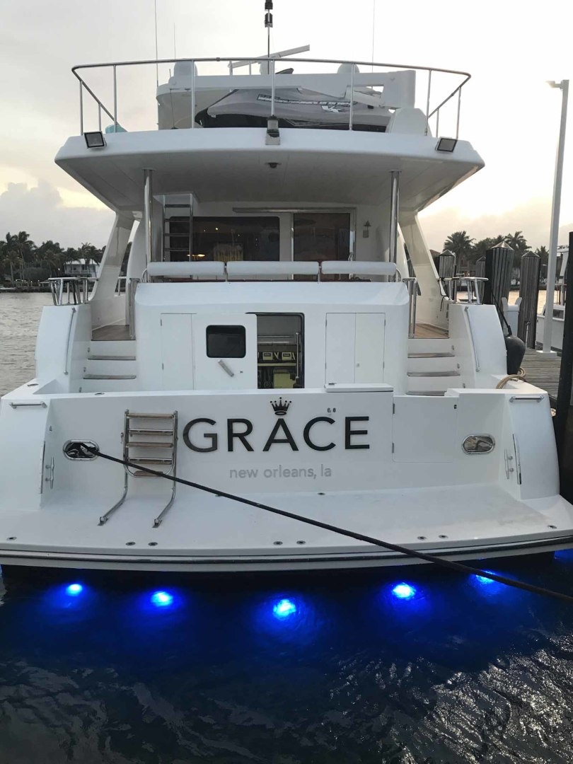 Hargrave-Flybridge Motor Yacht 2001-GRACE Fort Lauderdale-Florida-United States-Underwater Lights-1091968 | Thumbnail