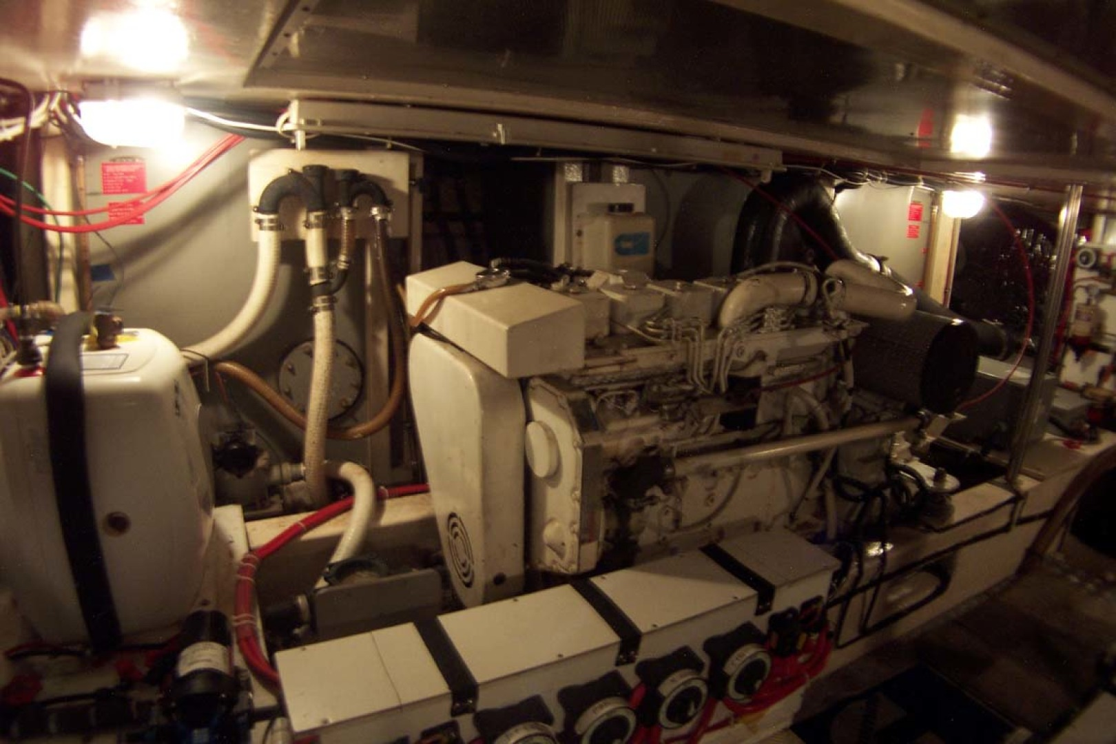 Island Gypsy-Aft Cabin Motoryacht 1997-PAINT BY NUMBER Stuart-Florida-United States-Starboard Engine-1081741 | Thumbnail