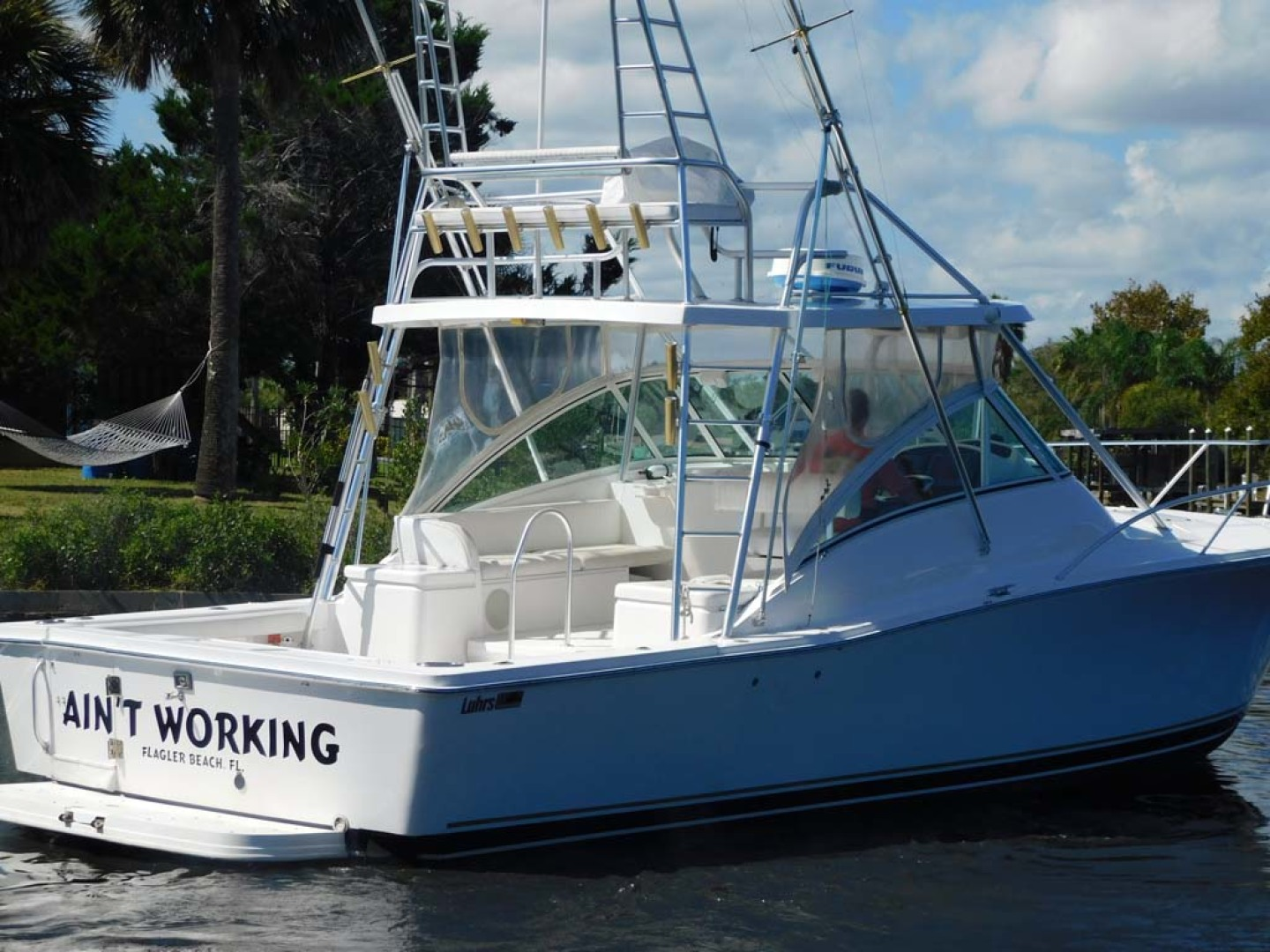 Luhrs-36 Open 2005-Aint Working Flagler Beach-Florida-United States-Stbd Aft Qtr-1082538 | Thumbnail