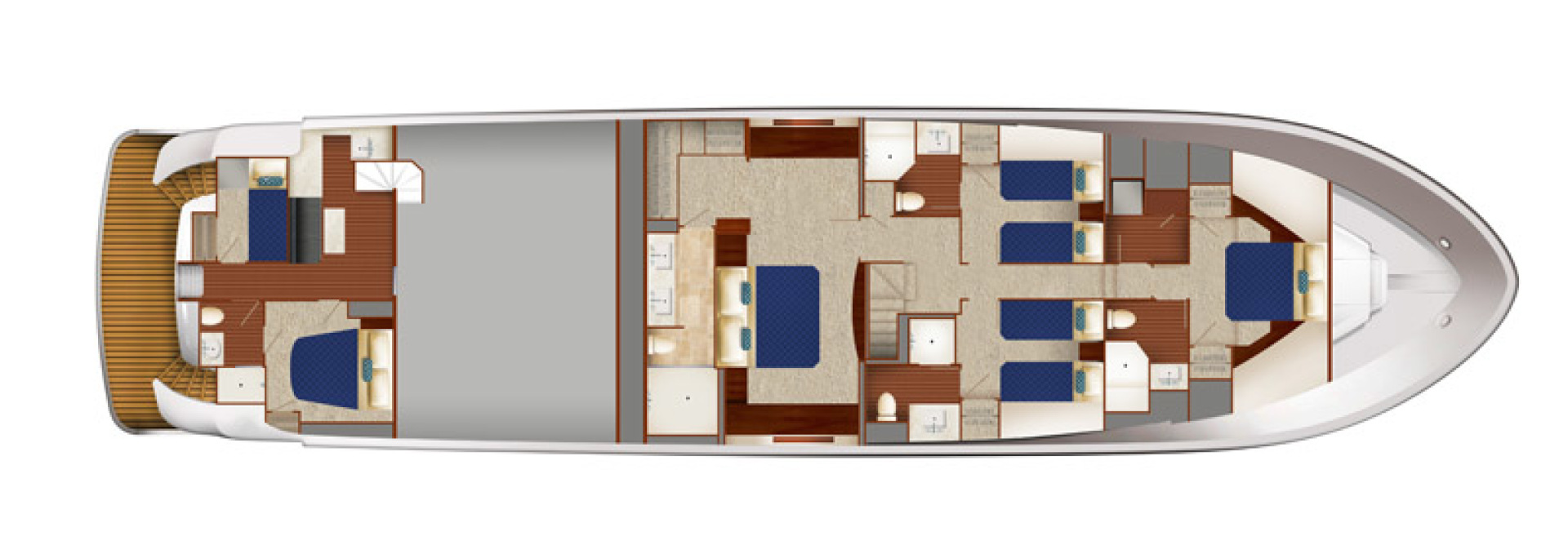 Hatteras-M90 Panacera 2020 -Cape May-New Jersey-United States-Layout Drawing-1084079 | Thumbnail