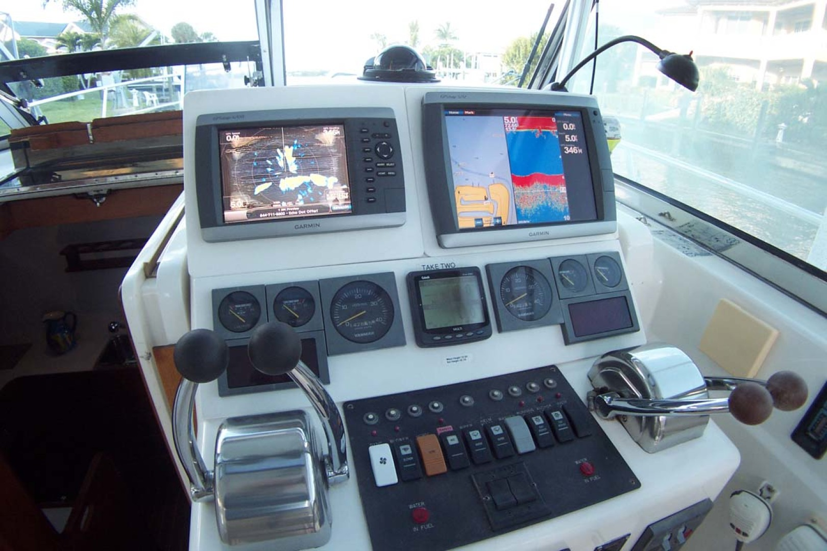 Sabre-Express MK ll 2000-TAKE TWO Palm City-Florida-United States-Helm and Electronics-1086745 | Thumbnail