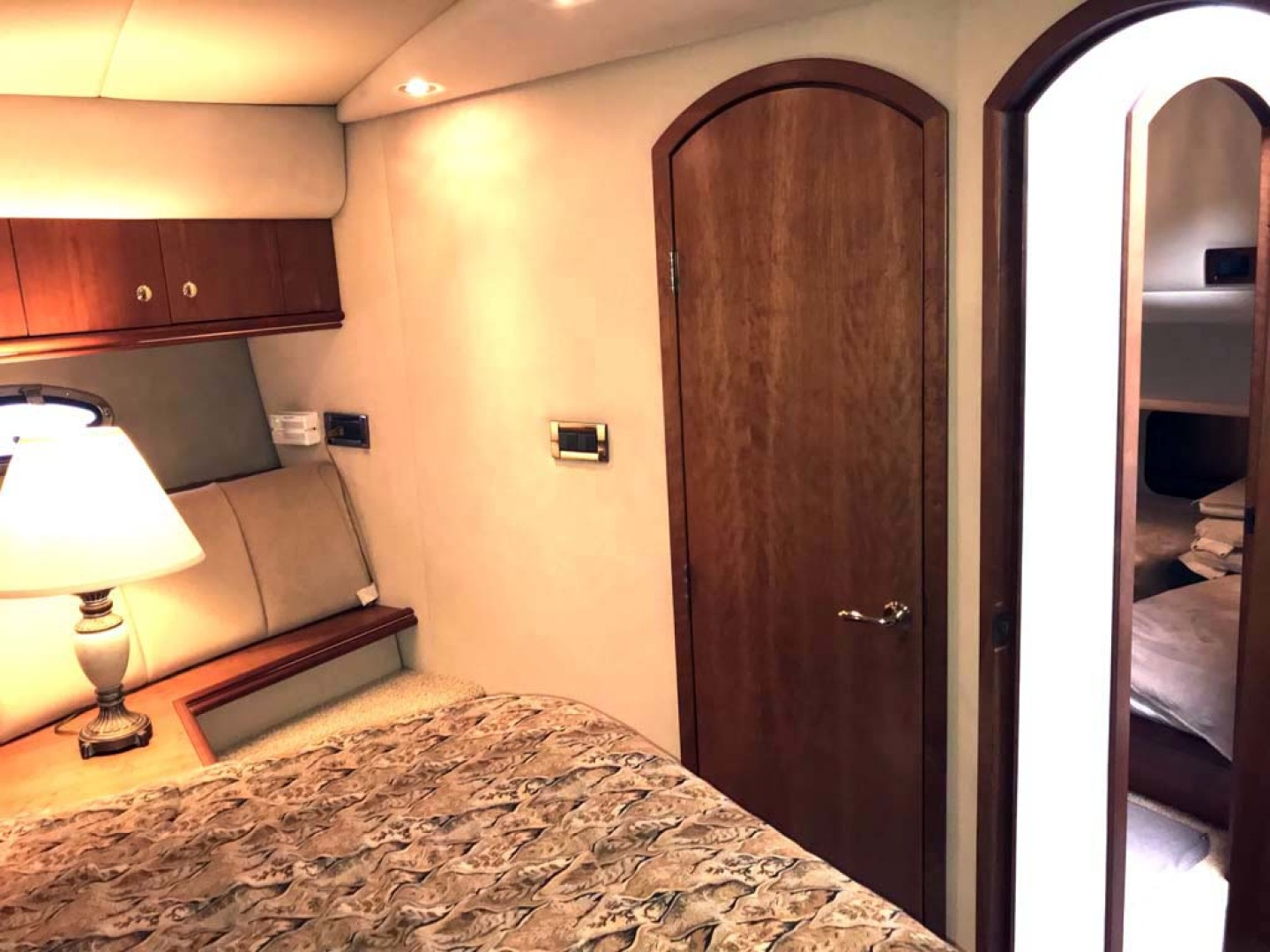 Cruisers Yachts-4450 2002-Sea renity Gulf Shores-Alabama-United States-Forward Stateroom Aft Closet-1089556 | Thumbnail