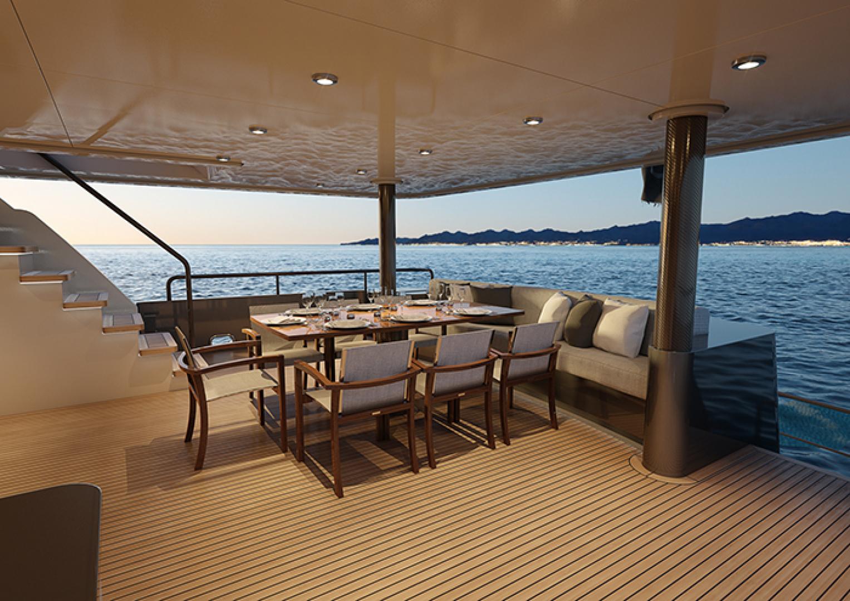 Crescent-110 Fast Pilothouse Yacht 2022-CRESCENT 110 Vancouver-British Columbia-Canada-AFT DECK-1091484 | Thumbnail