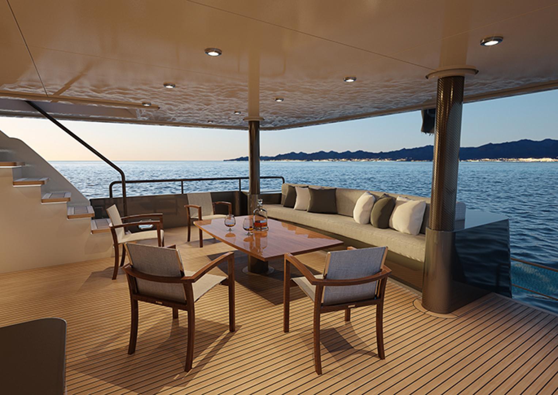 Crescent-110 Fast Pilothouse Yacht 2022-CRESCENT 110 Vancouver-British Columbia-Canada-AFT DECK-1091483 | Thumbnail