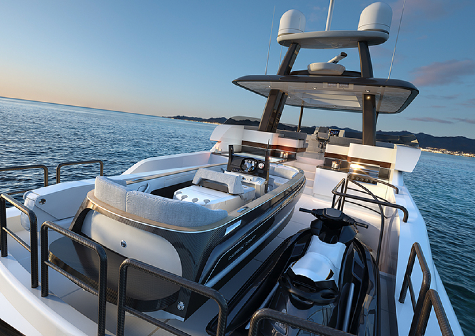 Crescent-110 Fast Pilothouse Yacht 2022-CRESCENT 110 Vancouver-British Columbia-Canada-BOAT DECK-1091486 | Thumbnail