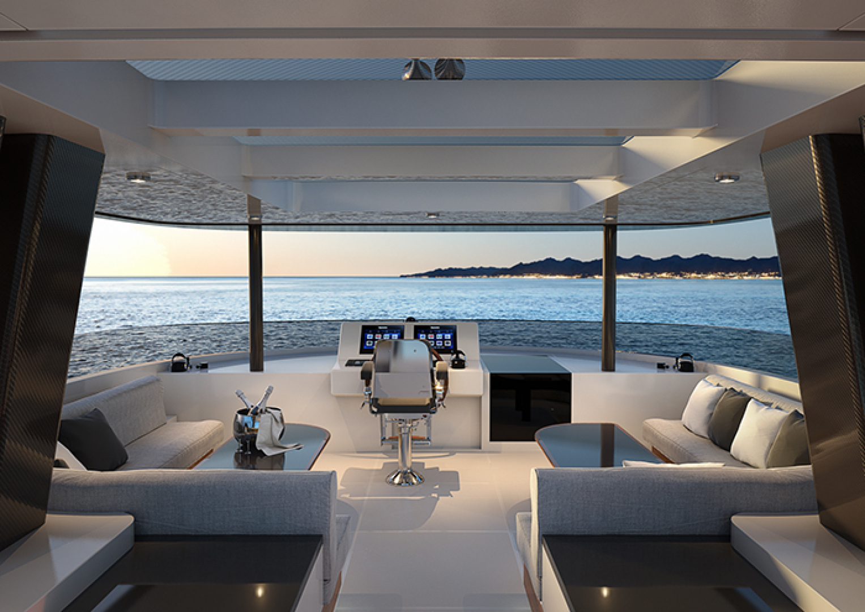 Crescent-110 Fast Pilothouse Yacht 2022-CRESCENT 110 Vancouver-British Columbia-Canada-FLYBRIDGE-1091482 | Thumbnail