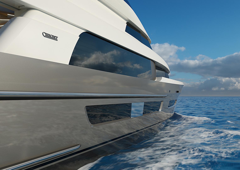 Crescent-110 Fast Pilothouse Yacht 2022-CRESCENT 110 Vancouver-British Columbia-Canada-EXTERIOR-1091487 | Thumbnail