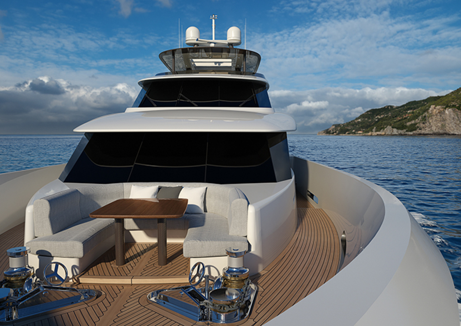 Crescent-110 Fast Pilothouse Yacht 2022-CRESCENT 110 Vancouver-British Columbia-Canada-FOREDECK-1091485 | Thumbnail