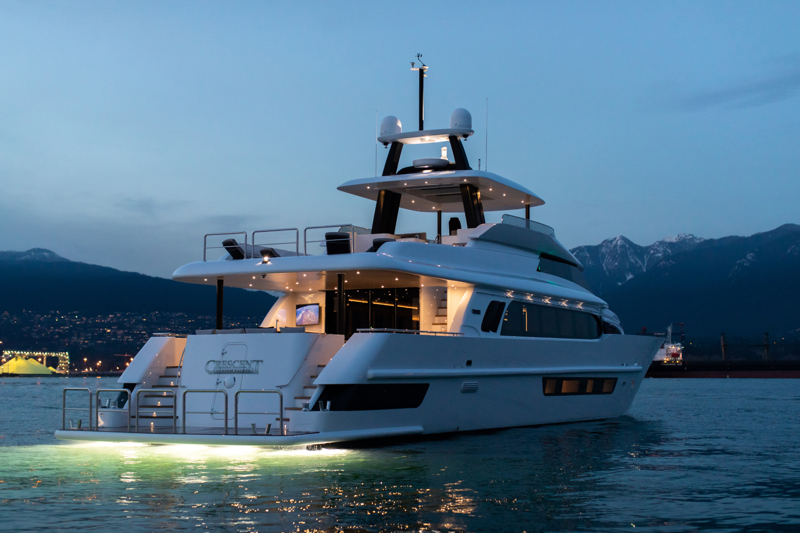 Picture Of: 117' Crescent Custom Fast Pilothouse Yacht 2020 Yacht For Sale | 2 of 23