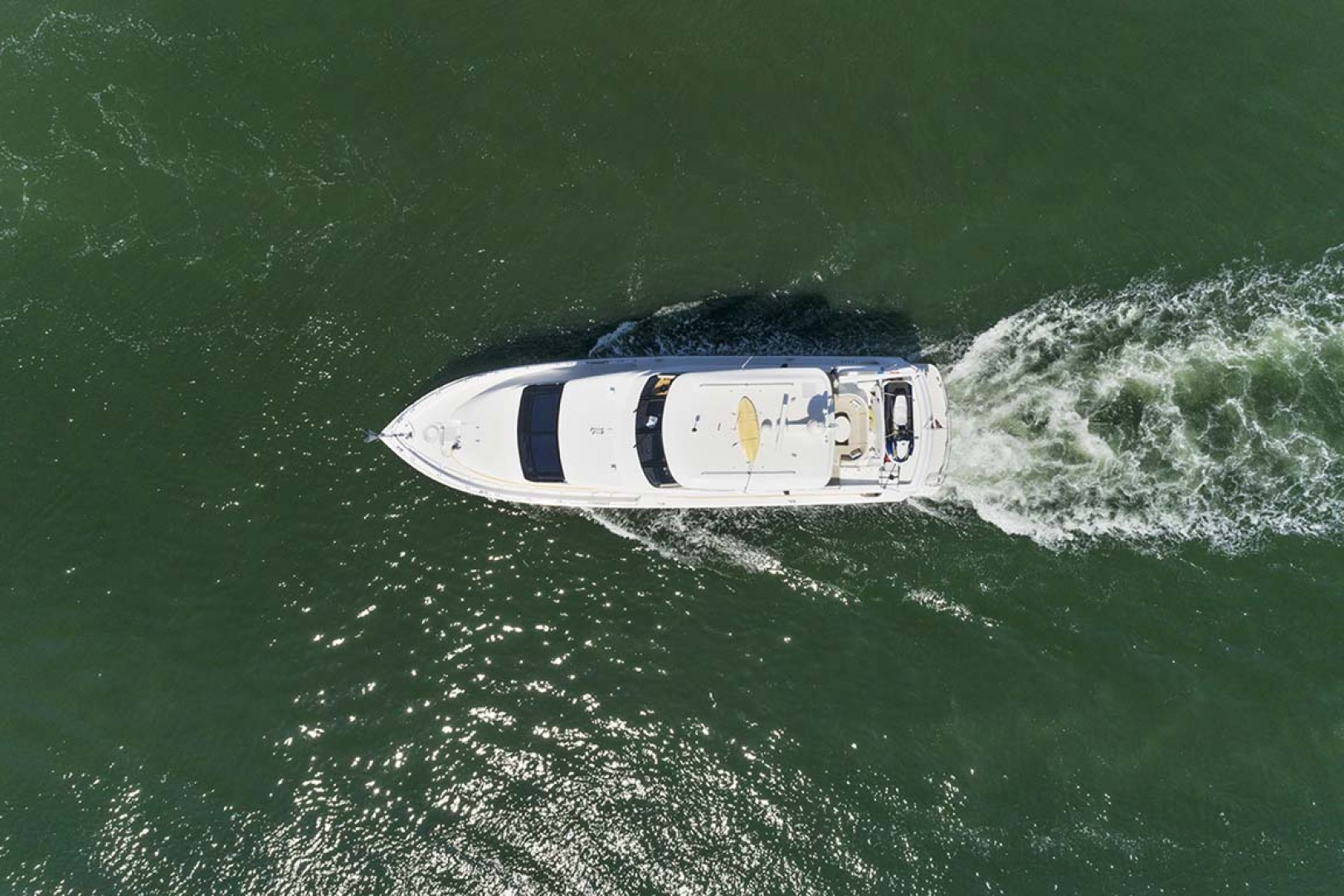 Hatteras-80 Motor Yacht 2007-Pneuma Ocean Reef-Florida-United States-Overhead View-1092618 | Thumbnail