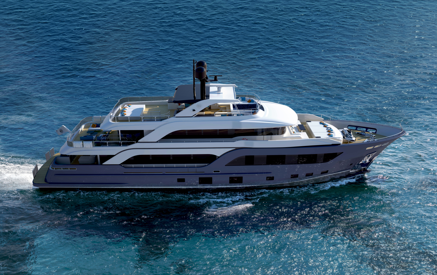 2019 Cantiere Delle Marche 122ft 2019 ACCIAIO (nearing completion) Yacht  for Sale