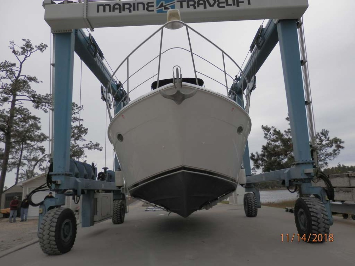 Carver-450 Voyager Pilothouse 1999-Carolina Cajun Beaufort-North Carolina-United States-Bow View-1093086 | Thumbnail