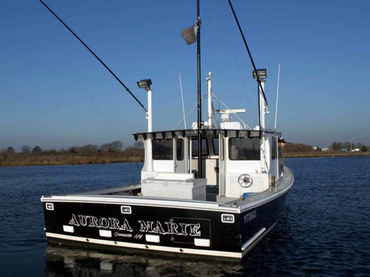 Willis Beal-RP40 2003-Aurora Marie Long Island-New York-United States-Transom-1093194 | Thumbnail