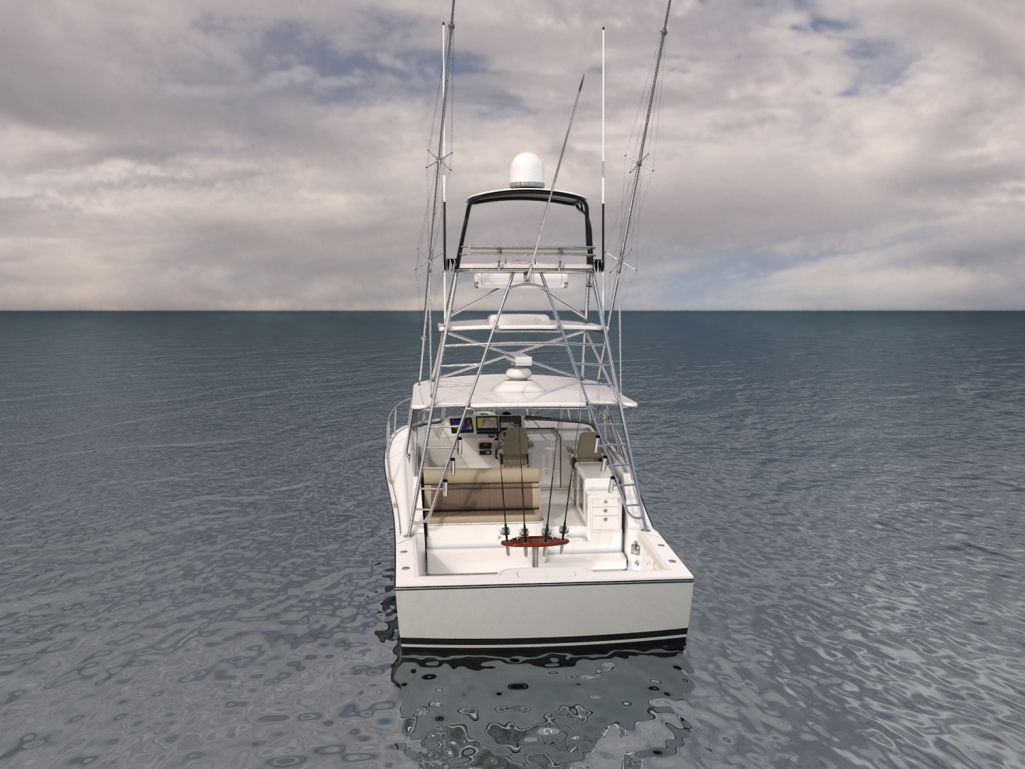 Cabo-41 Express 2019 -Cape May-New Jersey-United States-Stern-1093578   Thumbnail