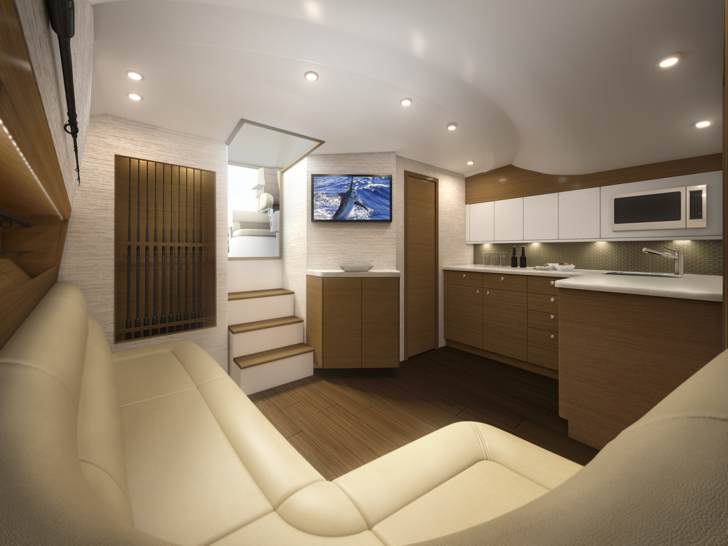 Cabo-41 Express 2019 -Cape May-New Jersey-United States-Cabin Entry-1093582   Thumbnail