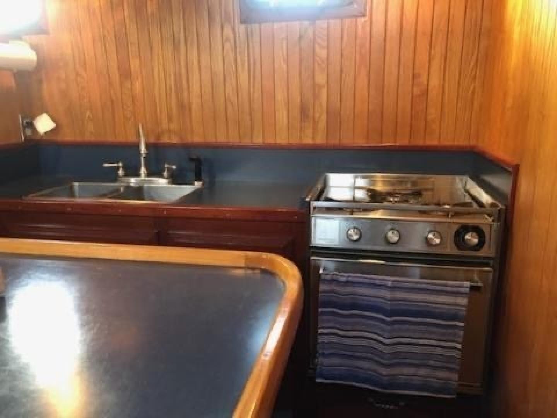 Webbers Cove-1966/2004 Custom Trawler 1966-Deja Bleu Bainbridge Island-Washington-United States-Galley-1409604 | Thumbnail