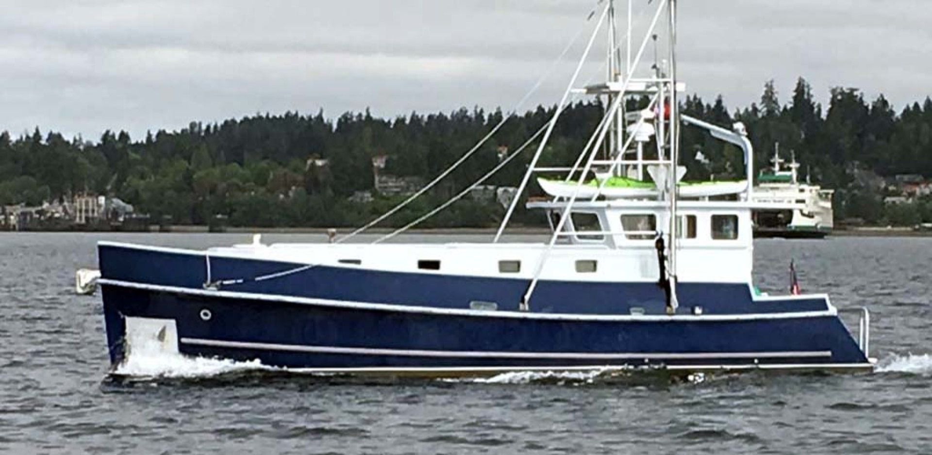 Webbers Cove-1966/2004 Custom Trawler 1966-Deja Bleu Bainbridge Island-Washington-United States-Port Profile-1093761 | Thumbnail