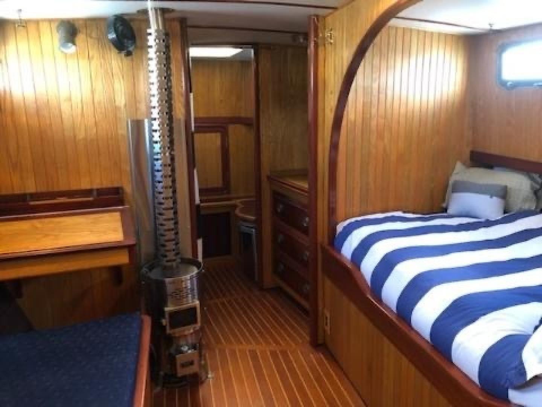 Webbers Cove-1966/2004 Custom Trawler 1966-Deja Bleu Bainbridge Island-Washington-United States-Fwd View From Stateroom-1409603 | Thumbnail