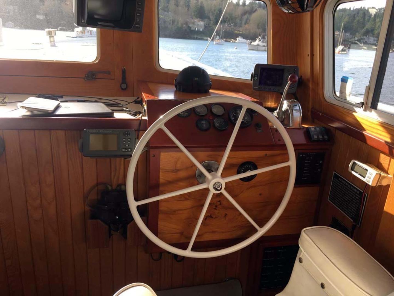 Webbers Cove-1966/2004 Custom Trawler 1966-Deja Bleu Bainbridge Island-Washington-United States-Helm-1095684 | Thumbnail