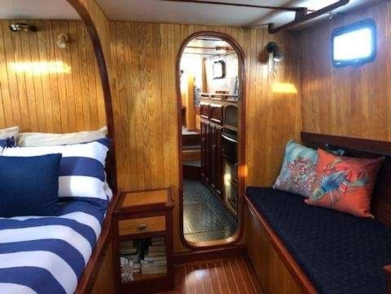 Webbers Cove-1966/2004 Custom Trawler 1966-Deja Bleu Bainbridge Island-Washington-United States-Stateroom Looking Aft-1409611 | Thumbnail