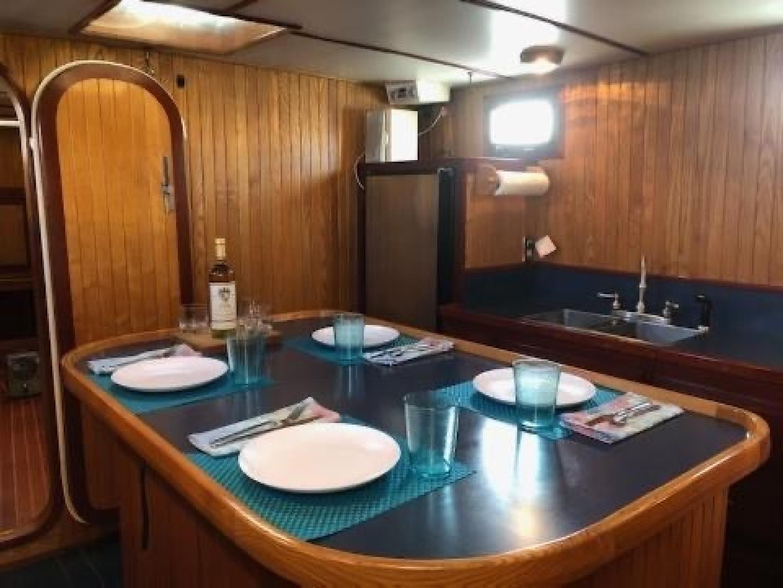 Webbers Cove-1966/2004 Custom Trawler 1966-Deja Bleu Bainbridge Island-Washington-United States-Main Salon Galley-1409608 | Thumbnail