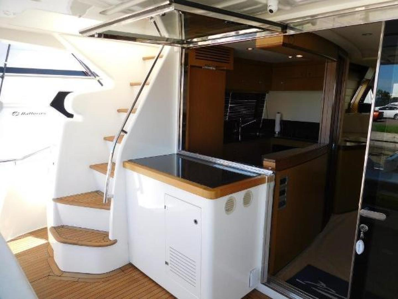 Ferretti Yachts-630 2009-BREAKAWAY Treasure Island-Florida-United States-Galley/Aft Deck  Open-1097537 | Thumbnail