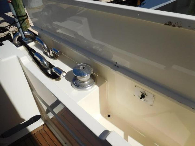 Ferretti Yachts-630 2009-BREAKAWAY Treasure Island-Florida-United States-Port Aft Cleats and Line Storage-1097551 | Thumbnail