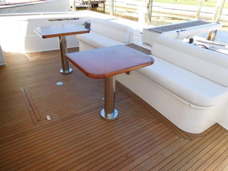 Ferretti Yachts-630 2009-BREAKAWAY Treasure Island-Florida-United States-Aft Deck -1097545 | Thumbnail