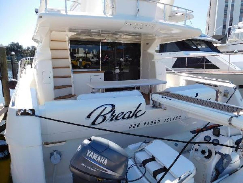 Ferretti Yachts-630 2009-BREAKAWAY Treasure Island-Florida-United States-Aft Deck and Swim Platform-1097585 | Thumbnail