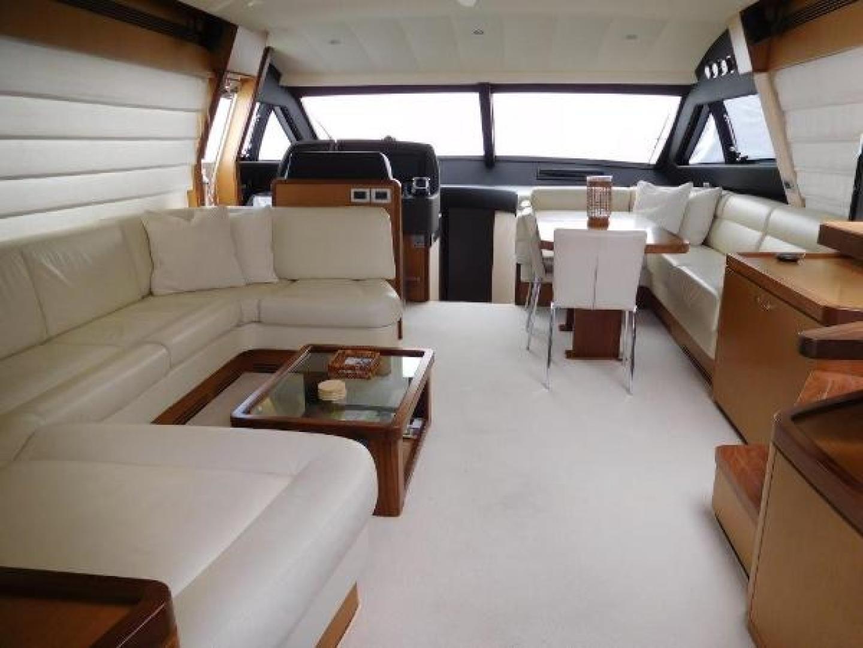 Ferretti Yachts-630 2009-BREAKAWAY Treasure Island-Florida-United States-Salon  Looking Forward-1097526 | Thumbnail