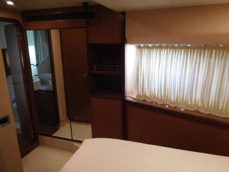 Ferretti Yachts-630 2009-BREAKAWAY Treasure Island-Florida-United States-VIP Stateroom  Mirrored Hanging Locker-1097493 | Thumbnail