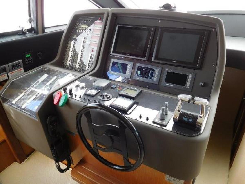 Ferretti Yachts-630 2009-BREAKAWAY Treasure Island-Florida-United States-Wheelhouse/Lower Helm-1097515 | Thumbnail