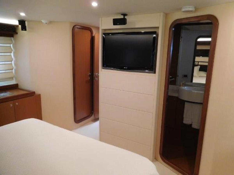Ferretti Yachts-630 2009-BREAKAWAY Treasure Island-Florida-United States-Master Stateroom  Sharp TV-1097508 | Thumbnail