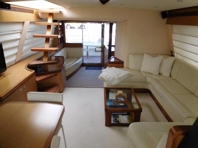 Ferretti Yachts-630 2009-BREAKAWAY Treasure Island-Florida-United States-Salon  Looking Aft -1097532 | Thumbnail