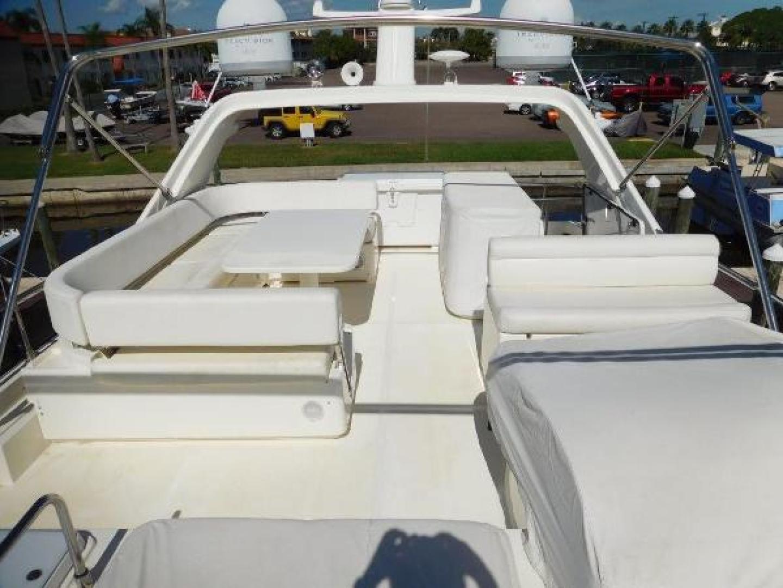 Ferretti Yachts-630 2009-BREAKAWAY Treasure Island-Florida-United States-Flybridge  Looking Aft-1097569 | Thumbnail