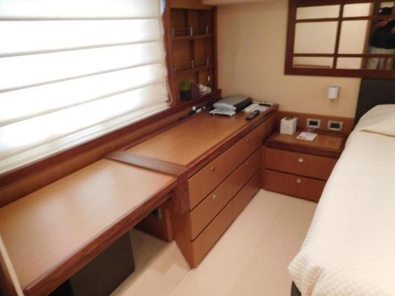 Ferretti Yachts-630 2009-BREAKAWAY Treasure Island-Florida-United States-Master Stateroom  Desk/Vanity-1097506 | Thumbnail