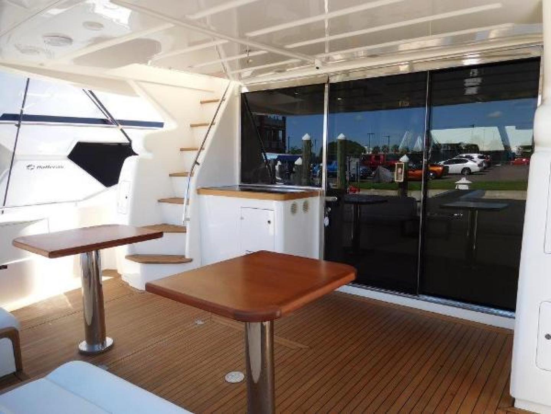 Ferretti Yachts-630 2009-BREAKAWAY Treasure Island-Florida-United States-Aft Deck  Looking Forward-1097548 | Thumbnail