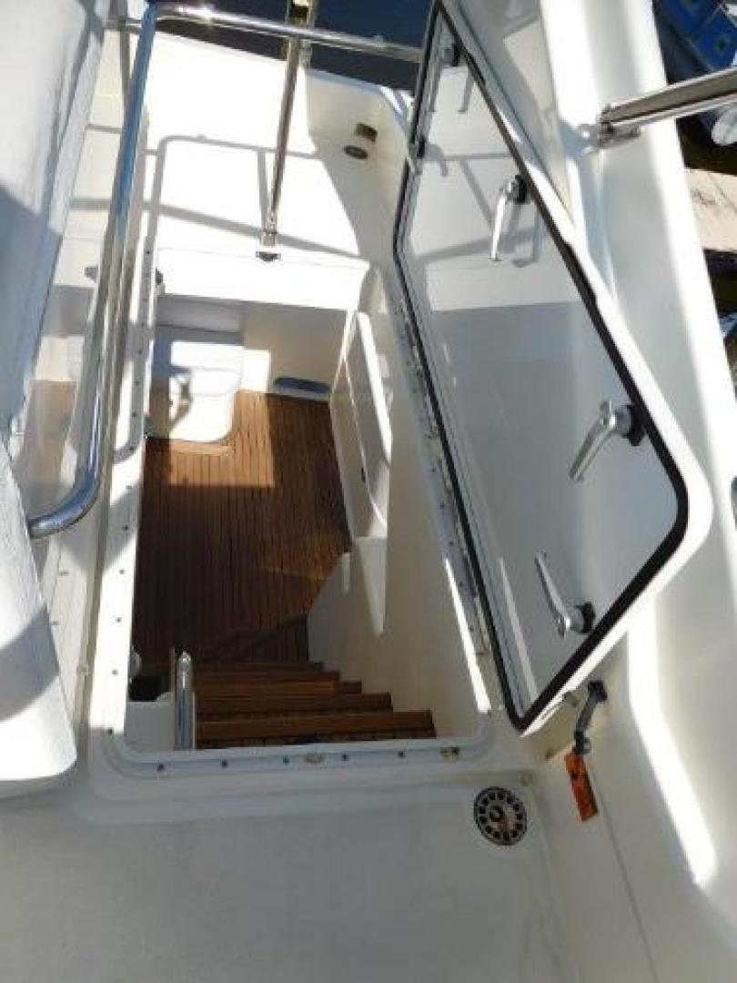 Ferretti Yachts-630 2009-BREAKAWAY Treasure Island-Florida-United States-Access Hatch to Aft Deck Stairs-1097571 | Thumbnail