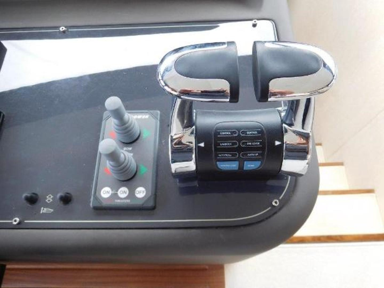 Ferretti Yachts-630 2009-BREAKAWAY Treasure Island-Florida-United States-Wheelhouse Engine Controls-1097518 | Thumbnail