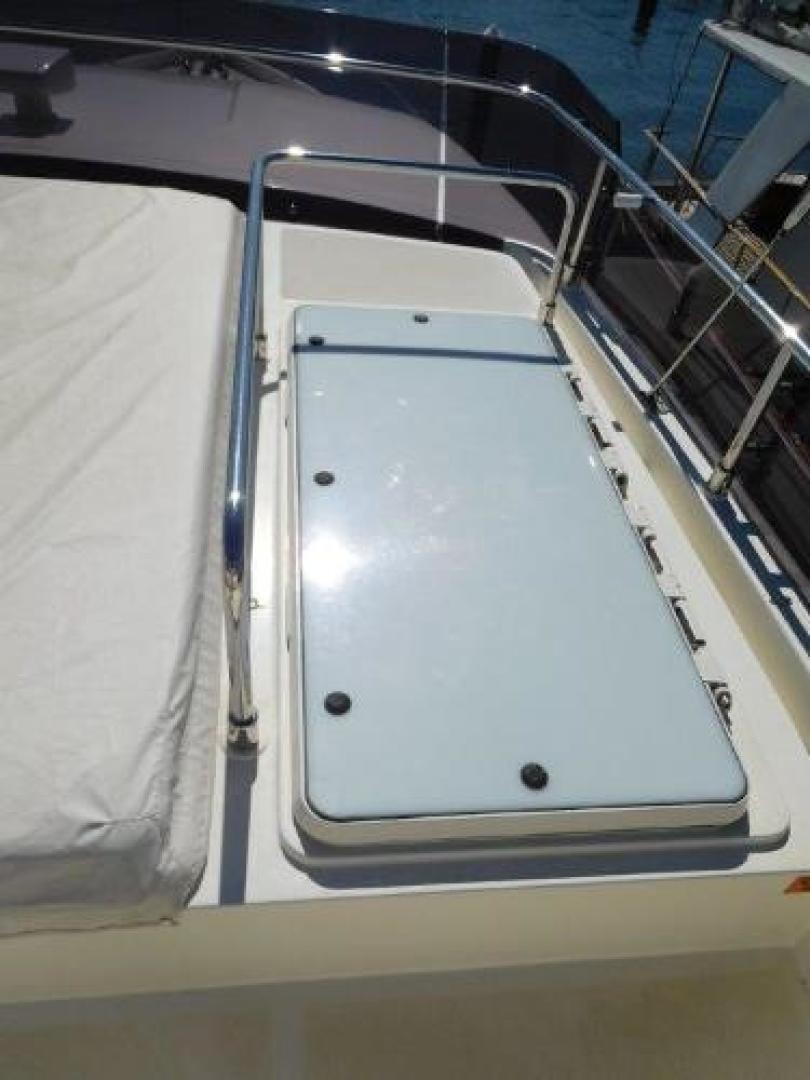 Ferretti Yachts-630 2009-BREAKAWAY Treasure Island-Florida-United States-Access Hatch to Interior Stairs -1097570 | Thumbnail
