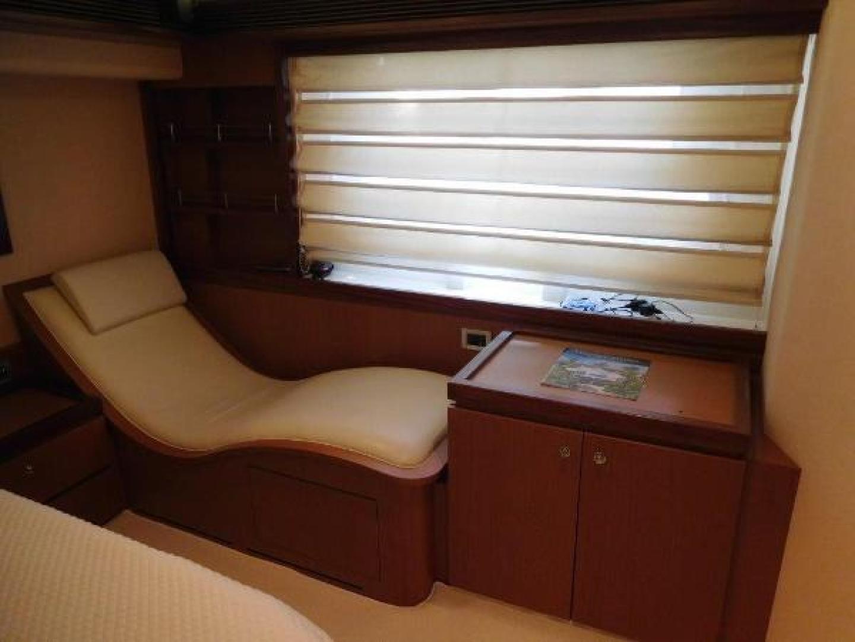 Ferretti Yachts-630 2009-BREAKAWAY Treasure Island-Florida-United States-Master Stateroom  Sofa with Heat/Vibrator-1097507 | Thumbnail