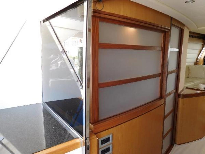 Ferretti Yachts-630 2009-BREAKAWAY Treasure Island-Florida-United States-Galley/Aft Deck  Closed-1097539 | Thumbnail