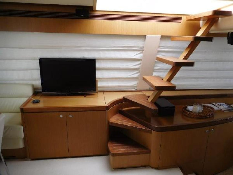Ferretti Yachts-630 2009-BREAKAWAY Treasure Island-Florida-United States-Staircase to Flybridge from Salon-1097524 | Thumbnail
