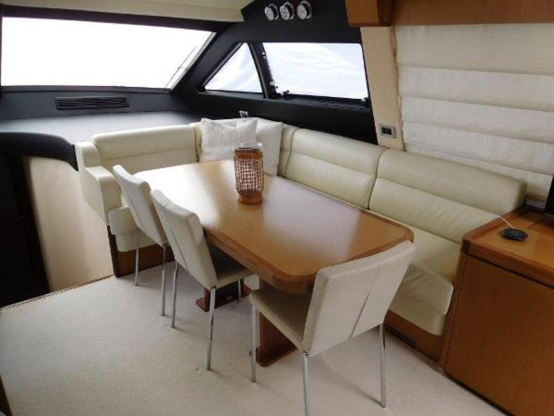 Ferretti Yachts-630 2009-BREAKAWAY Treasure Island-Florida-United States-Wheelhouse/Dinette-1097523 | Thumbnail