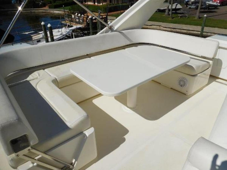Ferretti Yachts-630 2009-BREAKAWAY Treasure Island-Florida-United States-Flybridge Seating and Dining Area-1097566 | Thumbnail